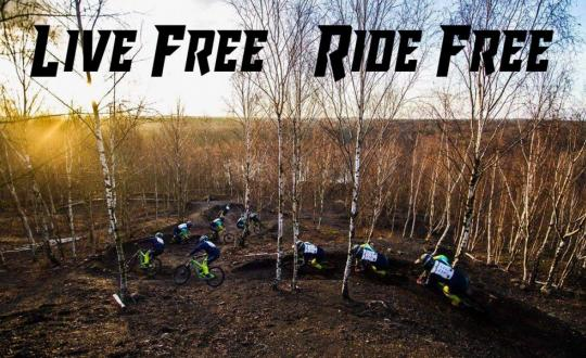 Live free ride free